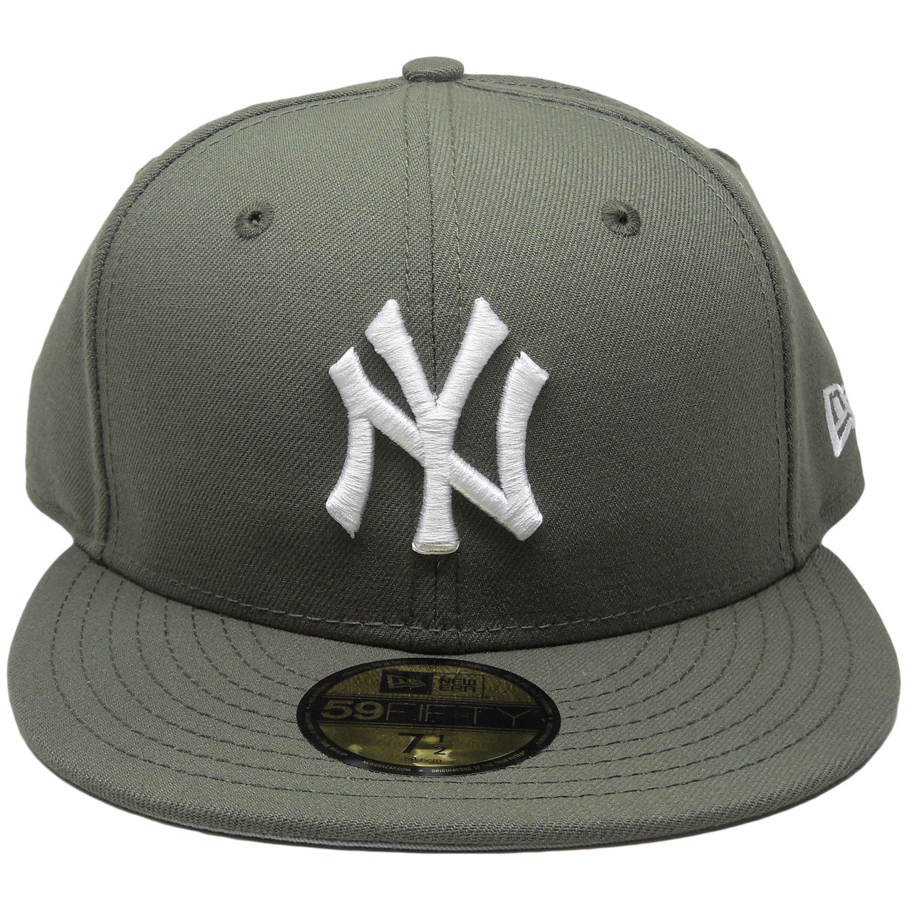 1012d81feaa6f New York Yankees New Era Custom 59Fifty Fitted Hat - New Olive ...
