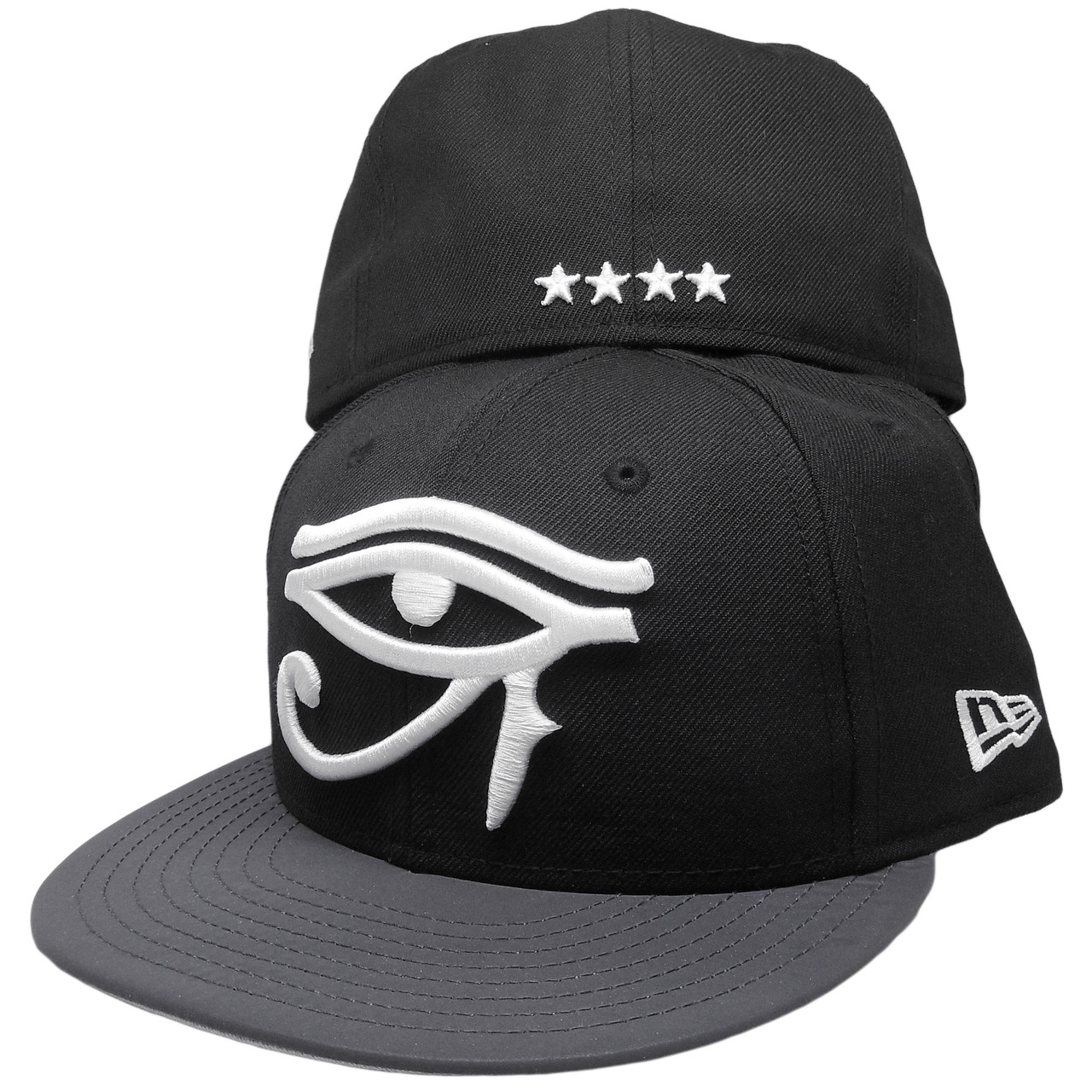 Eye of Horus New Era Custom 59Fifty Fitted Hat - Black 8c103f1ab22