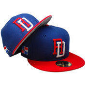 Dominican Republic WBC Custom New Era 59Fifty Fitted - Royal, Red, White