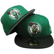 Boston Celtics New Era 59Fifty 2Tone Fitted Hat - Kelly, Black, White