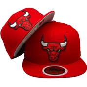 Chicago Bulls New Era KIDS 59Fifty Basic Fitted - Red, Black, White