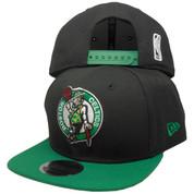 Boston Celtics New Era Basic 2Tone 9Fifty Snapback - Black, Kelly, White