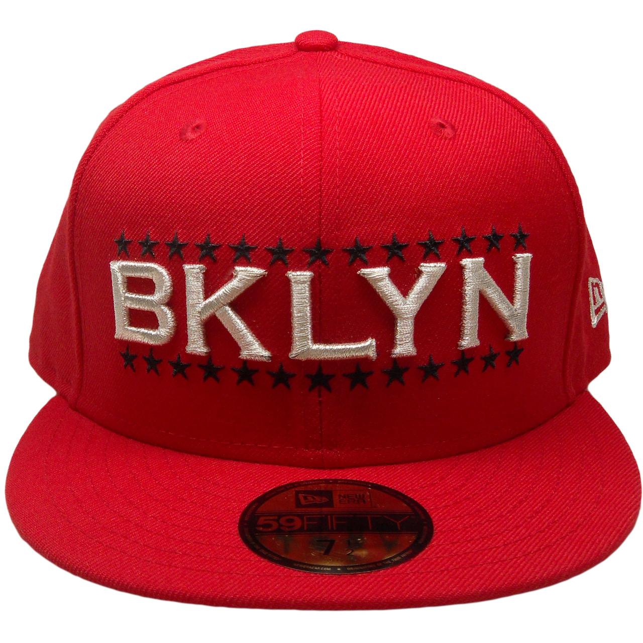 Brooklyn Custom New Era 59Fifty Fitted - Red aa08c1bda61