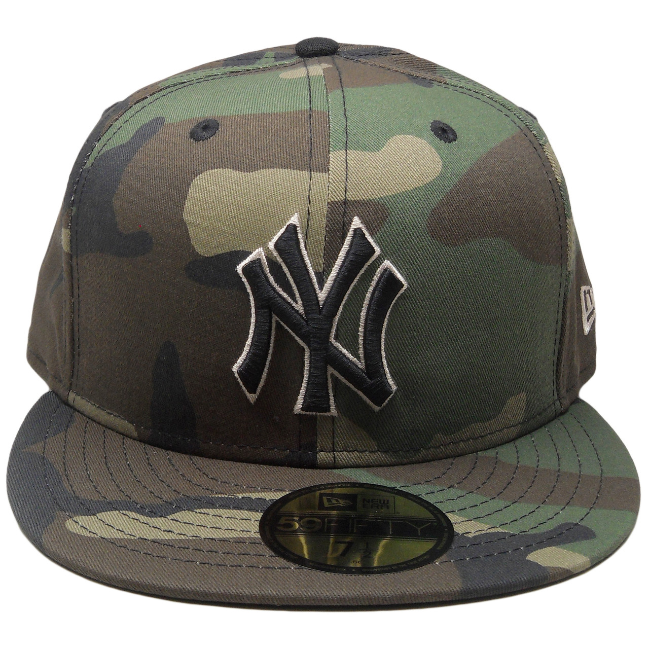New York Yankees New Era Custom 59Fifty Fitted Hat - Camouflage ... 72e41a521b3