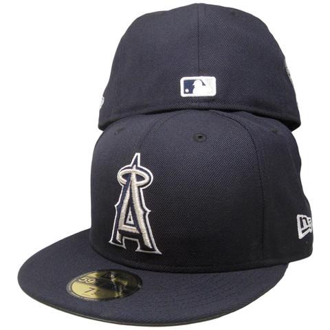 Anaheim Angels Custom New Era 59Fifty Fitted - Navy 32f2b166ab4a