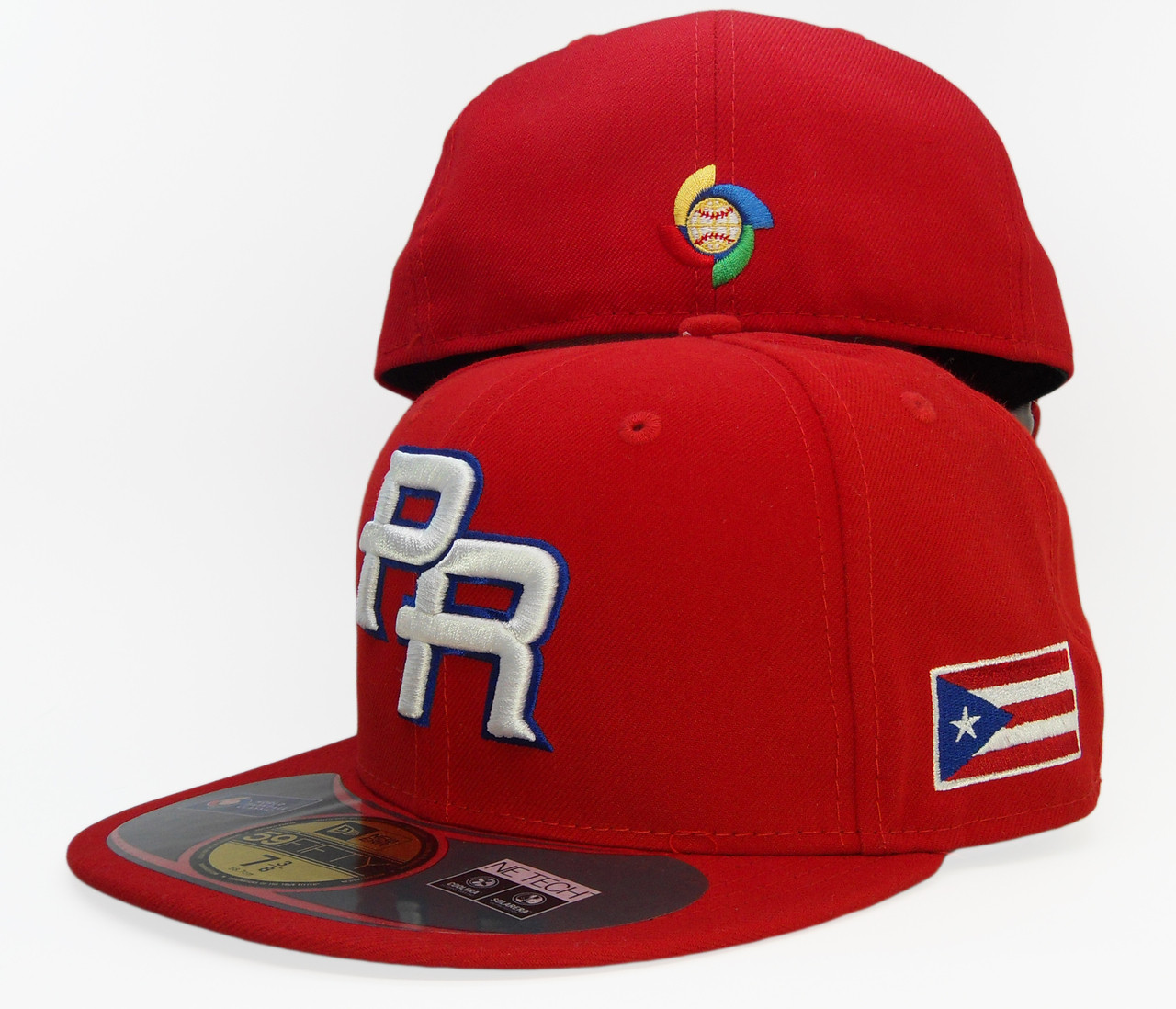 Puerto Rico New Era 59Fifty WBC13 Collection Fitted Hat - Red d4b055becdd
