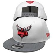Charlotte Hornets New Era Custom 9Fifty Snapback - White, Gray, Infrared, Black