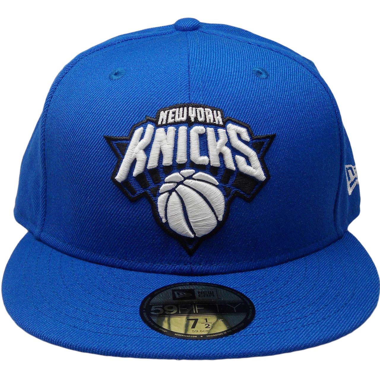 fb86ba4c1d9 New York Knicks New Era Custom 59Fifty Fitted - Royal