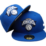New York Knicks New Era Custom 59Fifty Fitted - Royal, White, Black