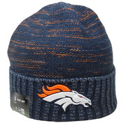 Denver Broncos New Era NFL Kickoff Knit - Navy, White, Orange