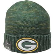 Green Bay Packers New Era NFL Kickoff Knit - Green, Yellow, White