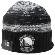 Golden State Warriors New Era Team Snug Knit Hat - Black, White