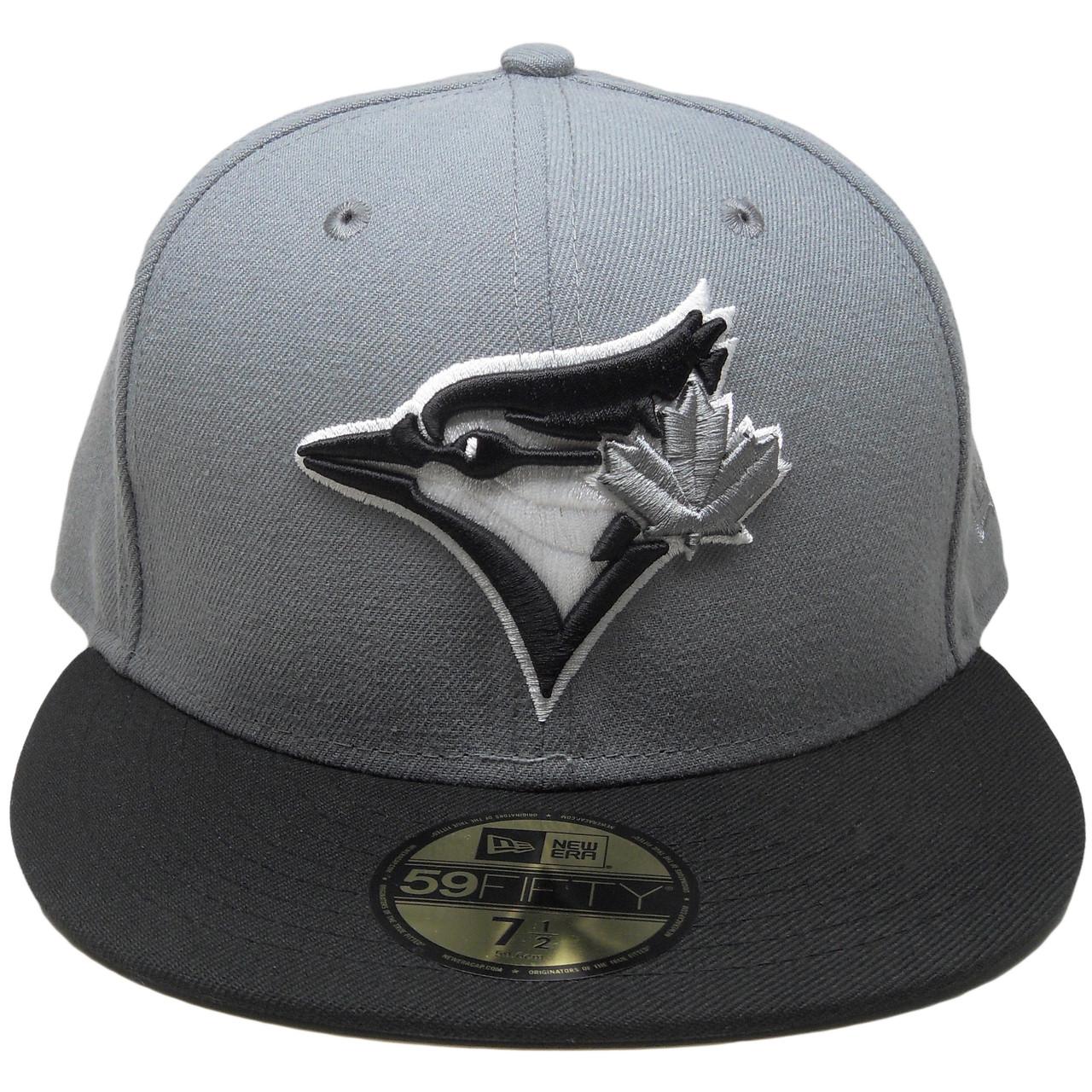 cafed5e9f8b Toronto Blue Jays New Era Custom 59Fifty Fitted Hat - Storm Gray ...