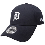 Detroit Tigers New Era The League 9Forty Adjustable - Navy, White