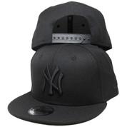 New York Yankees New Era Custom 9Fifty Snapback - Black Tonal