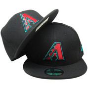 Arizona Diamondbacks New Era 59Fifty Onfield Fitted Hat - Black, Burgundy, Teal