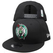 Boston Celtics New Era Basic 9Fifty Snapback - Black, Kelly, White, Orange