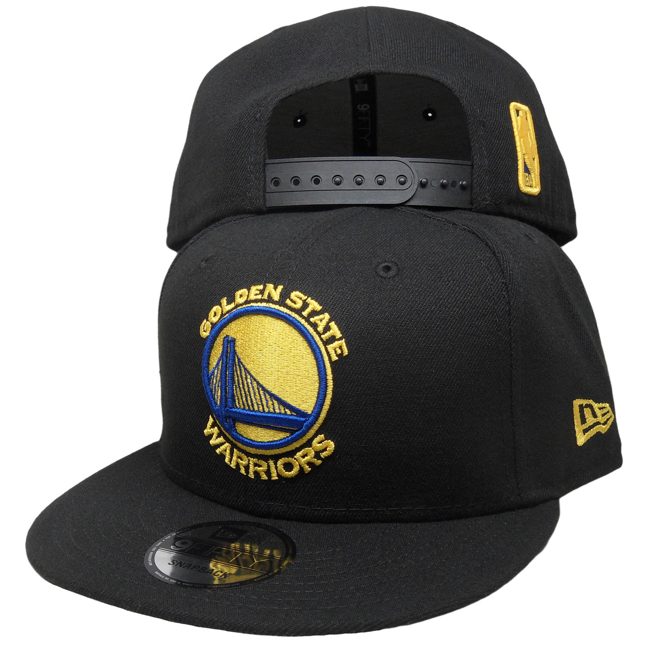 Golden State Warriors New Era Basic 9Fifty Snapback - Black 3e06be5d76a5