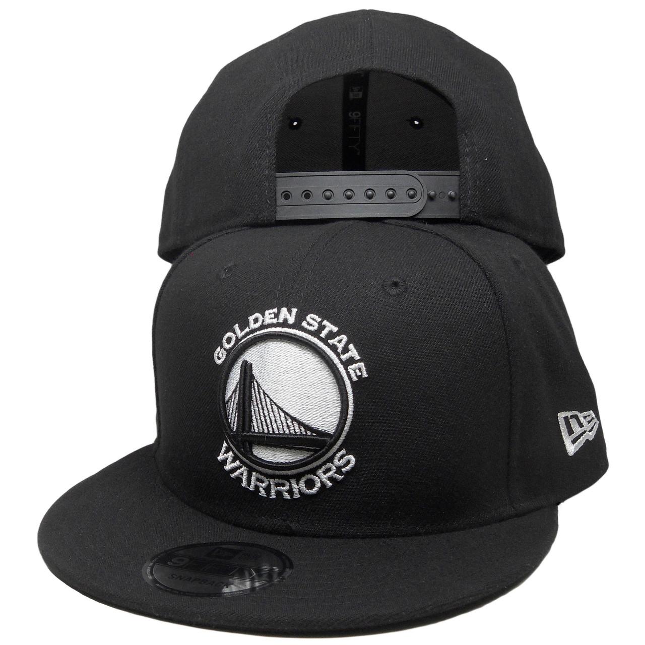 8b02e5e5142 Golden State Warriors New Era Basic 9Fifty Snapback - Black