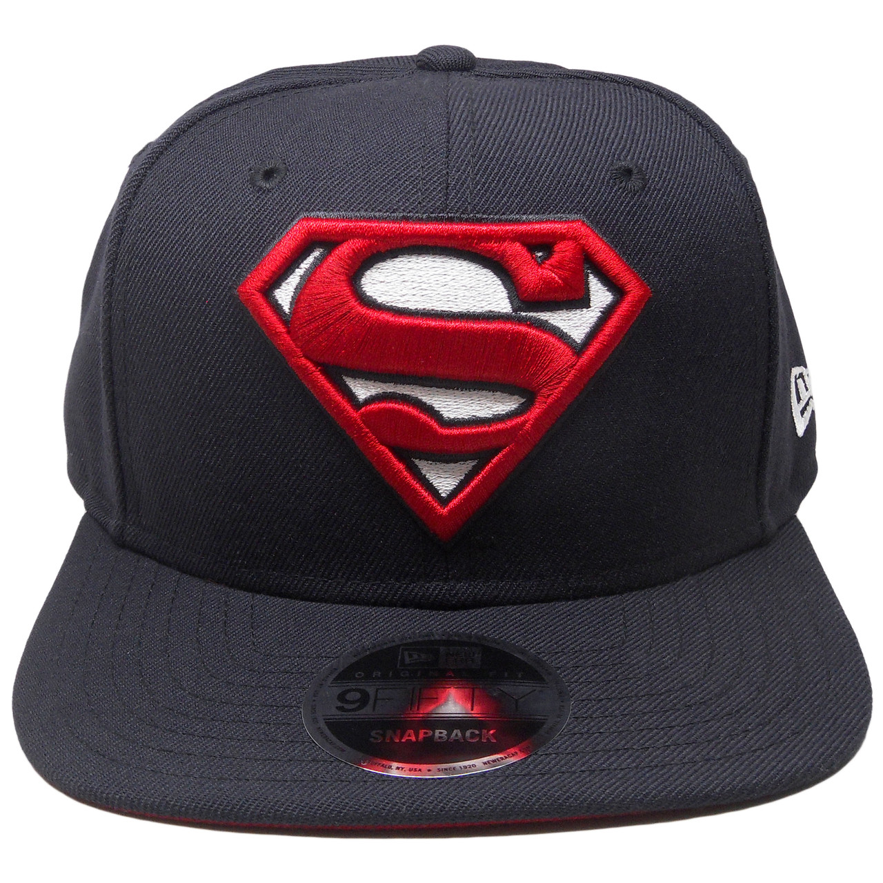 f9cf714cf97 DC Comics Superman New Era Custom 9Fifty OF Snapback - Navy