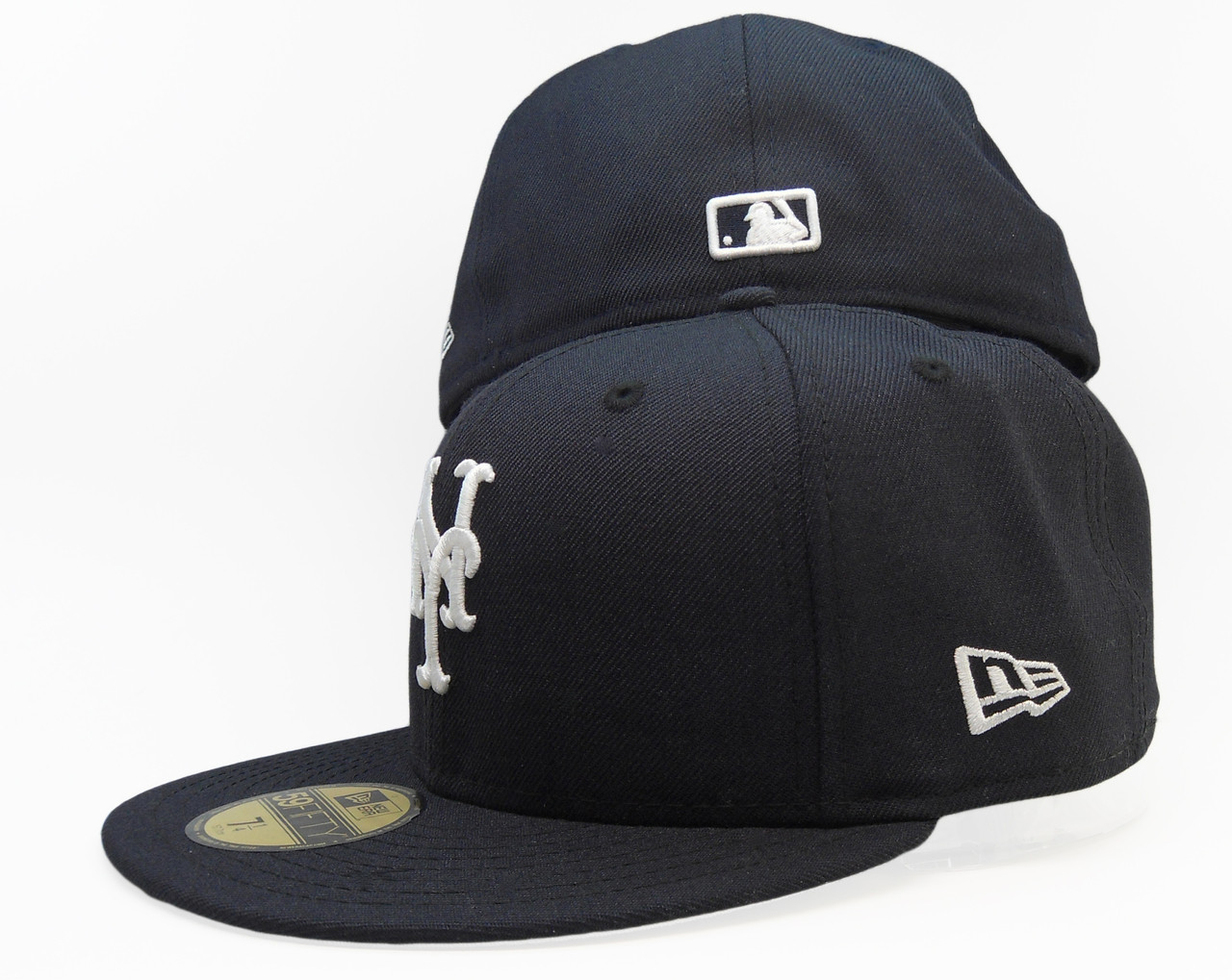 New York Mets New Era 59Fifty Fitted Hat - Navy Blue 9dbc65a9152