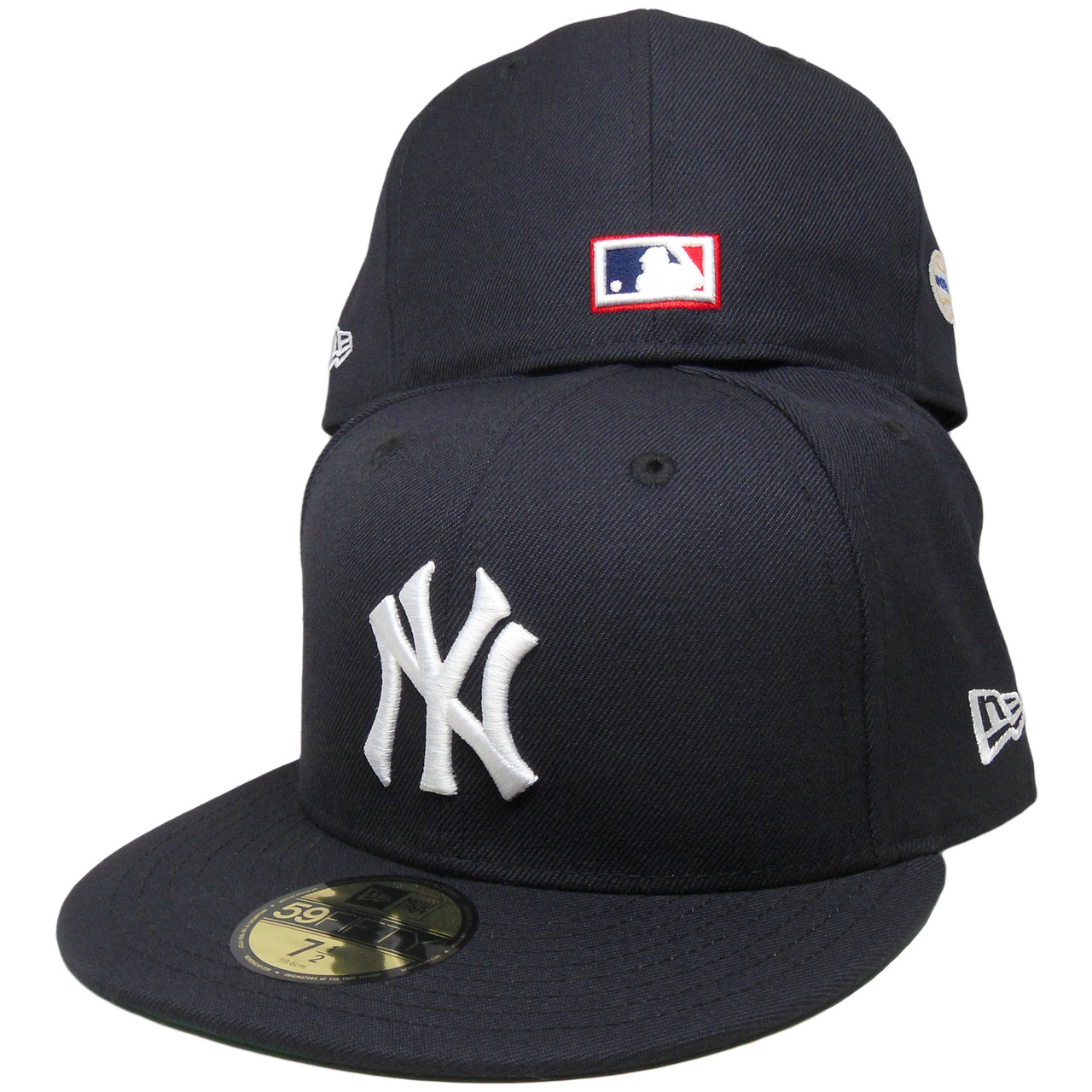 f188d972864 New York Yankees New Era Custom 58 WS Patch 59Fifty Fitted - Navy ...