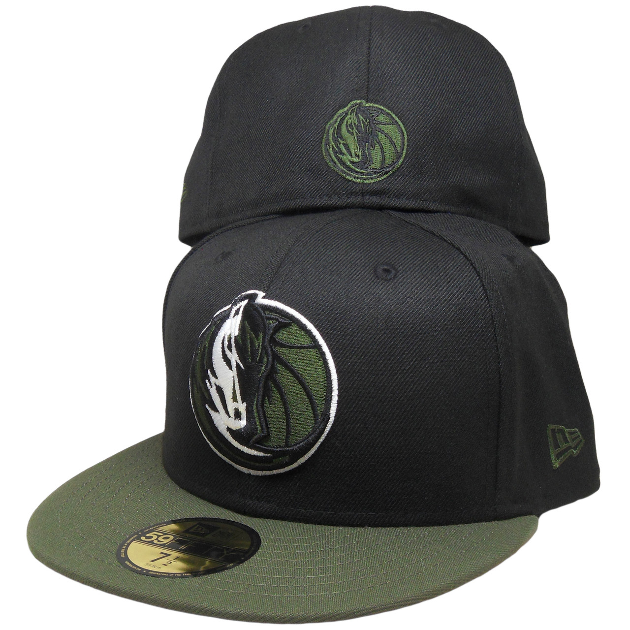 ae306fa9ac6fb Dallas Mavericks New Era Custom 59Fifty Fitted Hat - Black