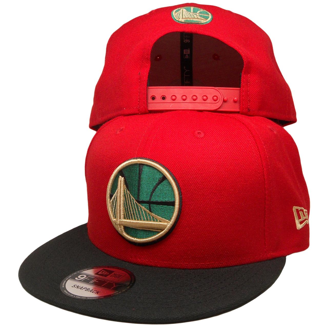 78fefb0e4c31 Golden State Warriors New Era Custom Gucci 9Fifty Snapback - Red ...