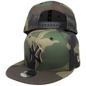 New York Yankees New Era Custom KIDS 9Fifty Snapback - Woodland Camo