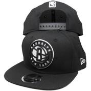 Brooklyn Nets New Era Custom 9Fifty Original Fit Snapback - Black, White
