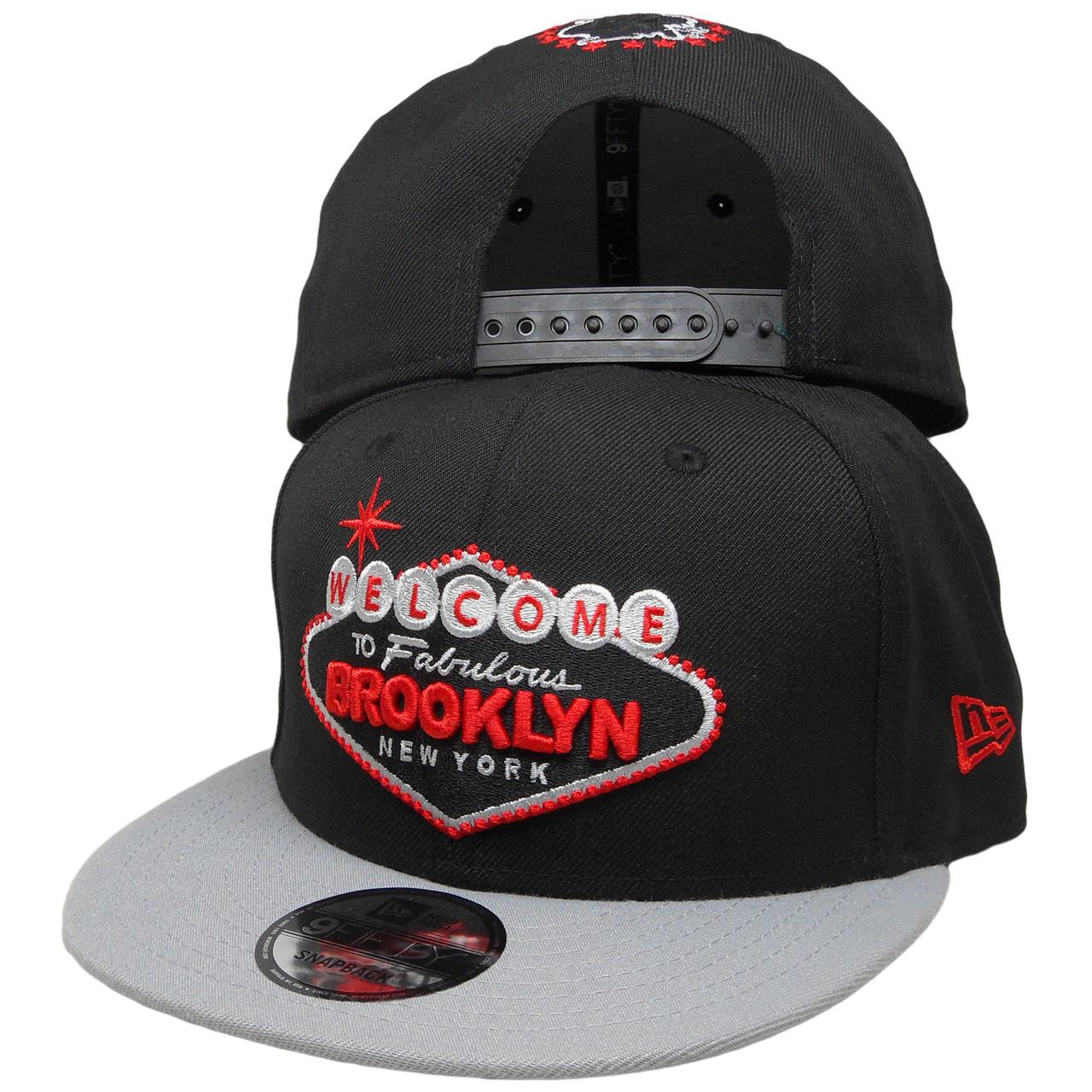 10f0f13d519d8 Welcome to Brooklyn New Era Custom 9Fifty Snapback Hat - Black