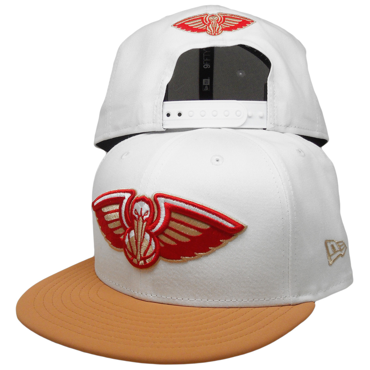 New Orleans Pelicans New Era Custom 9Fifty Snapback - White ac0e3db7587