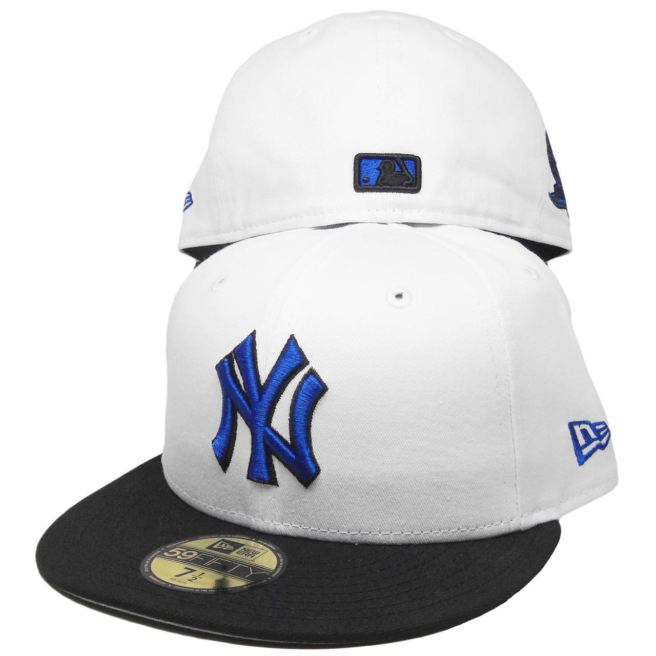 dc4fa59f91b8d New York Yankees New Era Custom 59Fifty Fitted - White