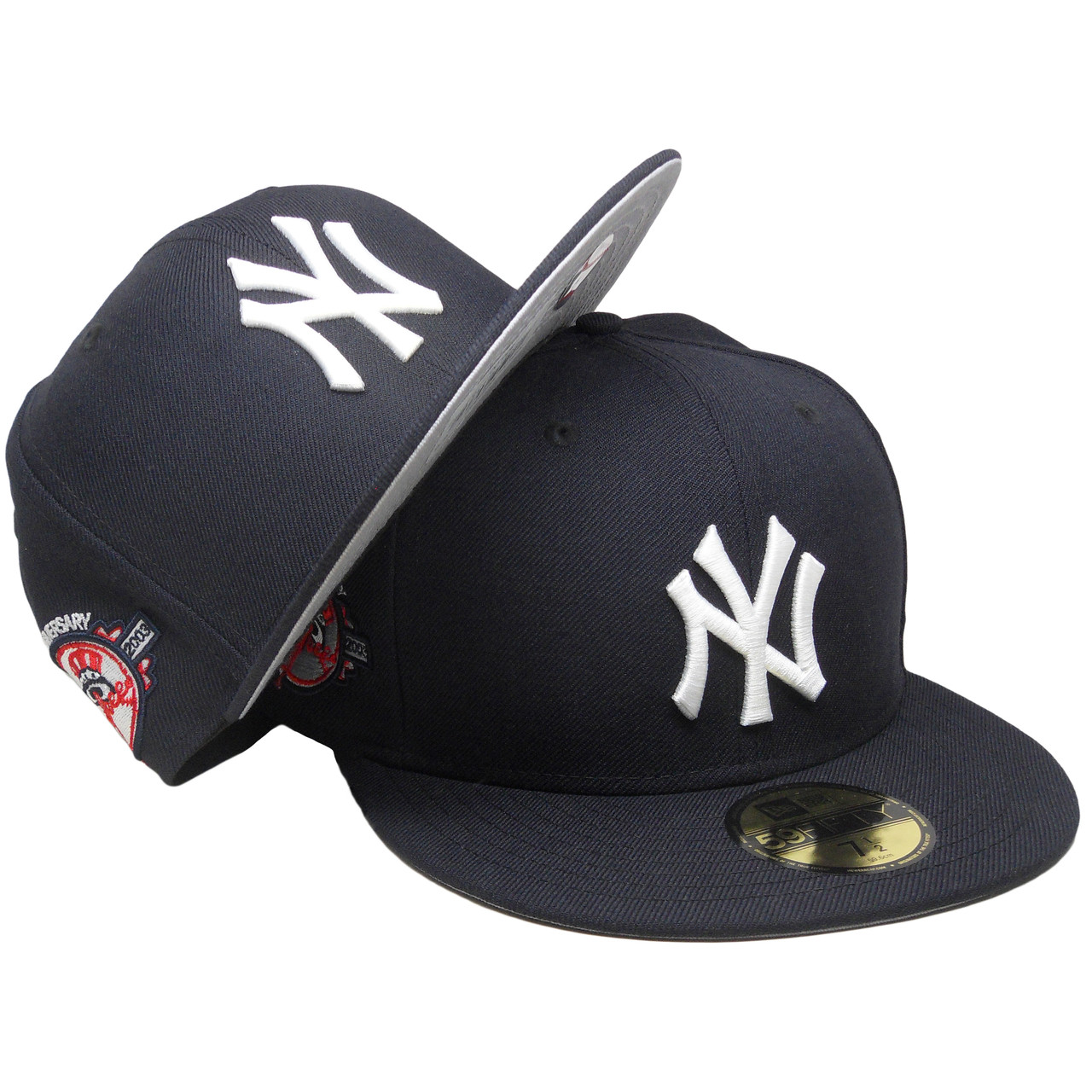 New York Yankees New Era Custom 100th Anniversary Fitted - Navy ... fa63dec1932a
