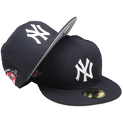 New York Yankees New Era Custom 100th Anniversary Fitted - Navy, Gray, White