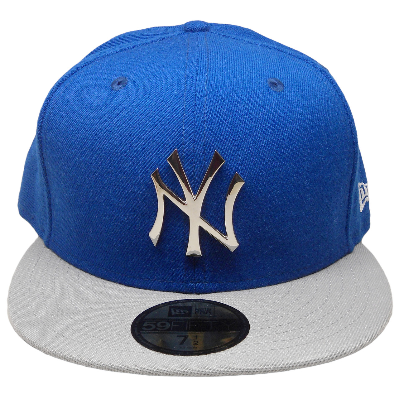 979bdd6760e New York Yankees New Era Custom Metallic Badge 59Fifty Fitted - Royal