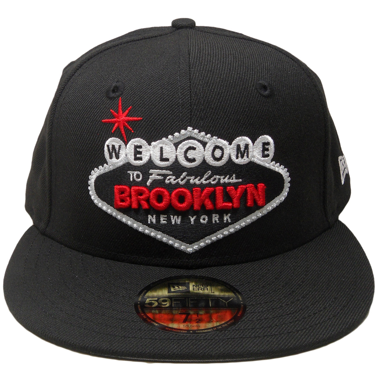 Welcome to Fabulous Brooklyn New Era 59Fifty Fitted Hat - Black 28ae9efe0bf4