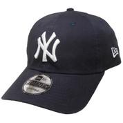 New York Yankees New Era Core Classic 9Twenty Adjustable Hat - Navy, White
