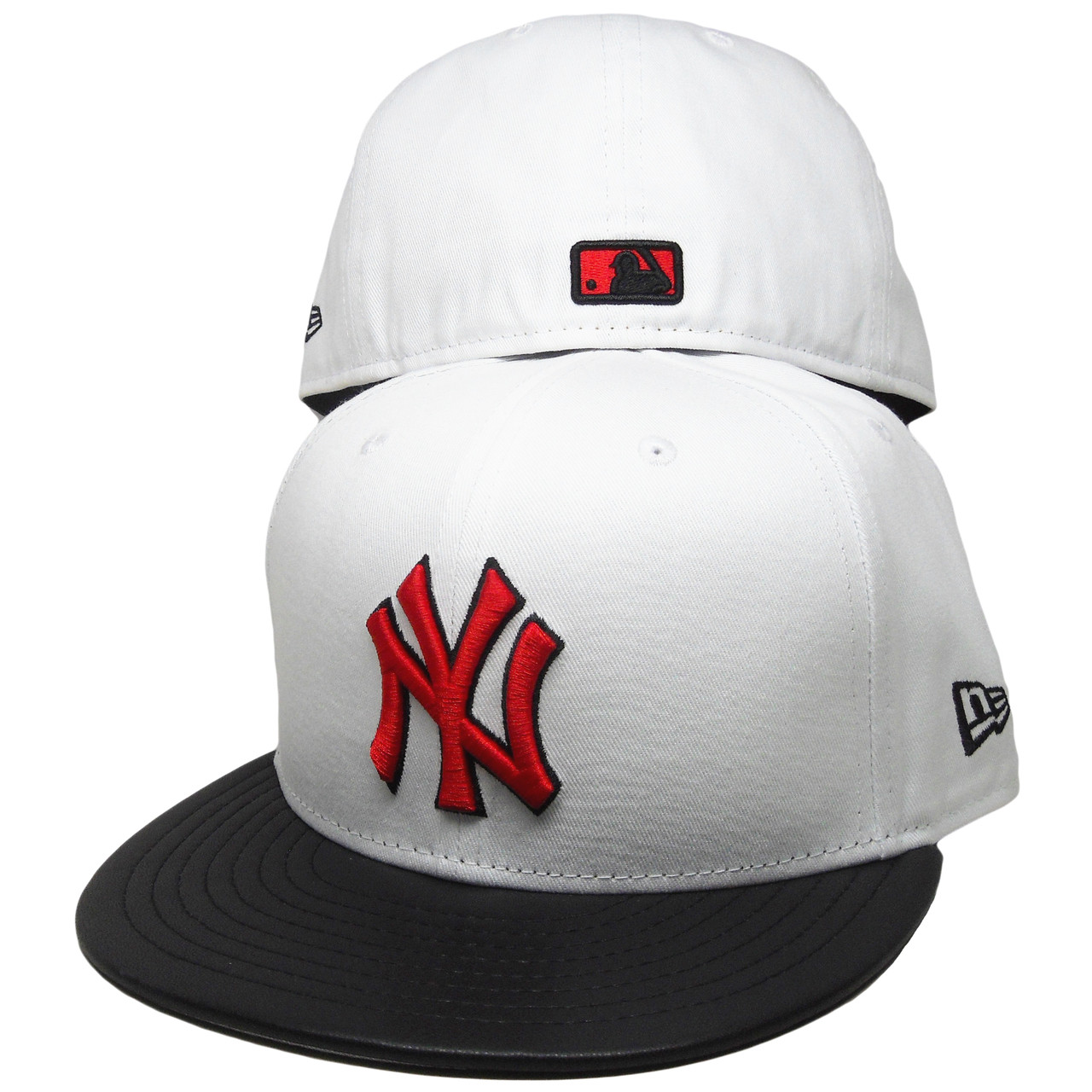 b0d10a535b1 New York Yankees New Era Custom 59Fifty Fitted - White