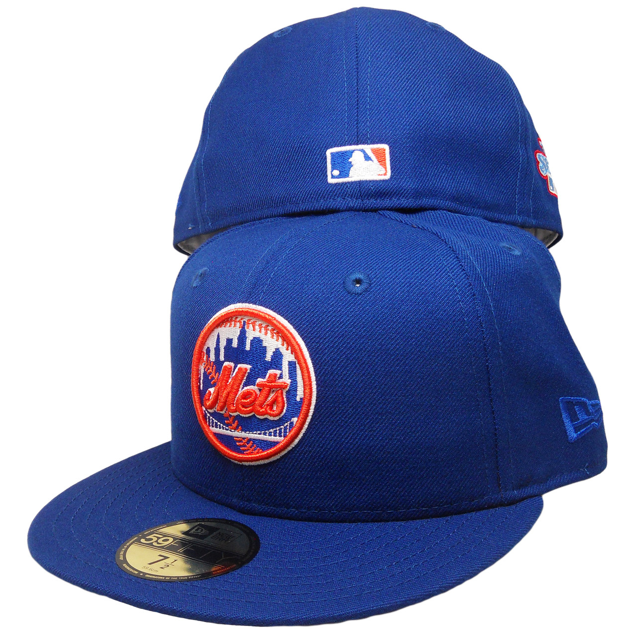 92172f26269f4 New York Mets New Era Custom 86 WS Patch 59Fifty Fitted - Royal ...