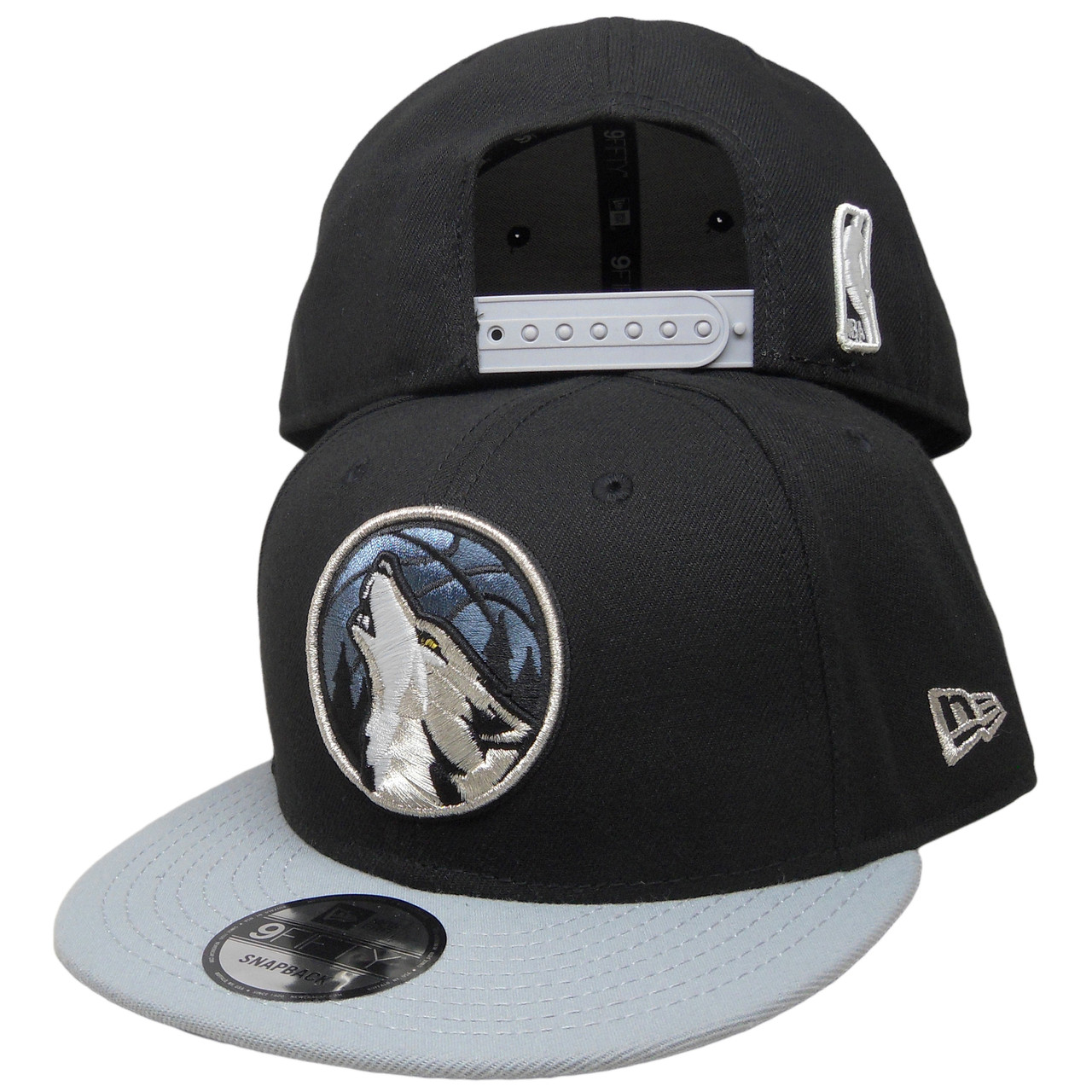a5cf8866742756 Minnesota Timberwolves New Era 2Tone 9Fifty Snapback - Black, Gray ...