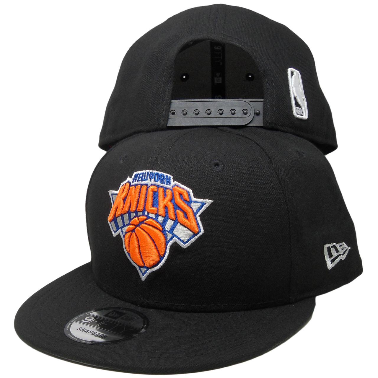 d6e6627304a New York Knicks New Era Basic 9Fifty Snapback - Black