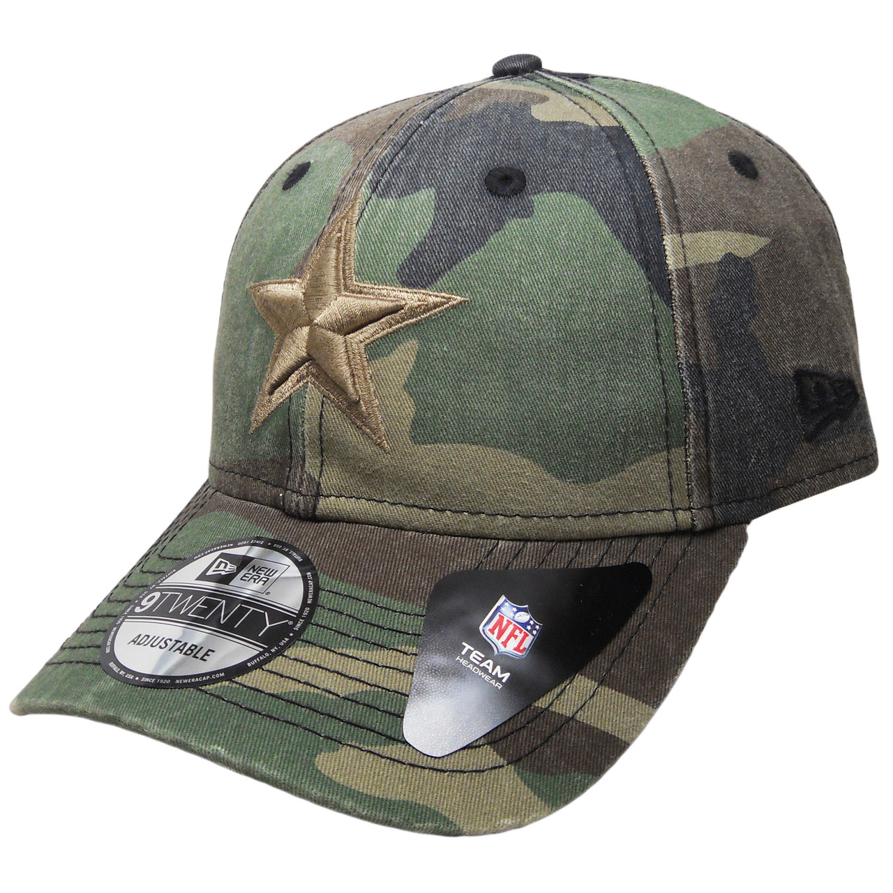 c16e5b6813a Dallas Cowboys New Era Core Classic 9Twenty Adjustable Hat - Camouflage.  Larger   More Photos