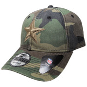 Dallas Cowboys New Era Core Classic 9Twenty Adjustable Hat - Camouflage