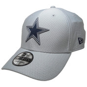Dallas Cowboys New Era official 2018 Training 3930 Flexfit Hat - Gray, Navy, White