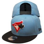 Toronto Blue Jays New Era Custom 9Fifty Snapback - Sky Blue, Black, Red
