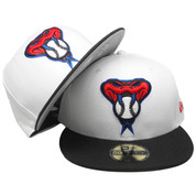 Arizona Diamondbacks New Era Custom 59Fifty Fitted - White, Black, Red, Royal