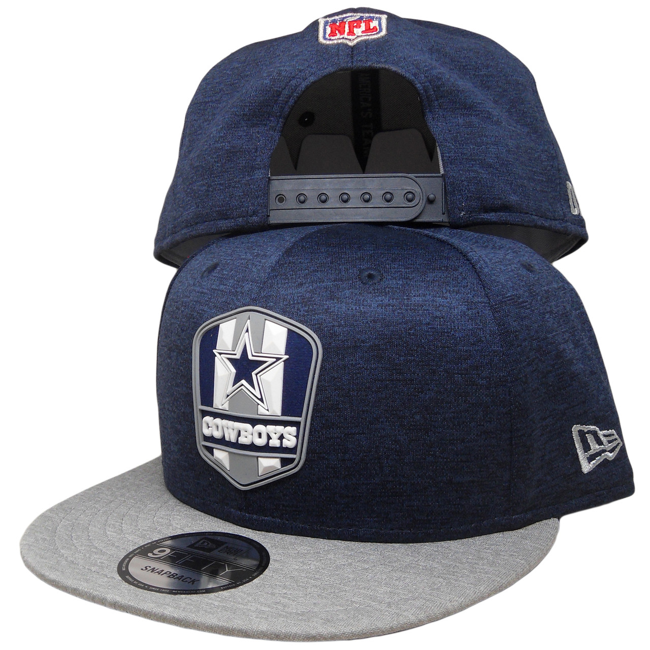 7d11d3960 Dallas Cowboys New Era 2018 Onfield 9Fifty Snapback Hat - Navy