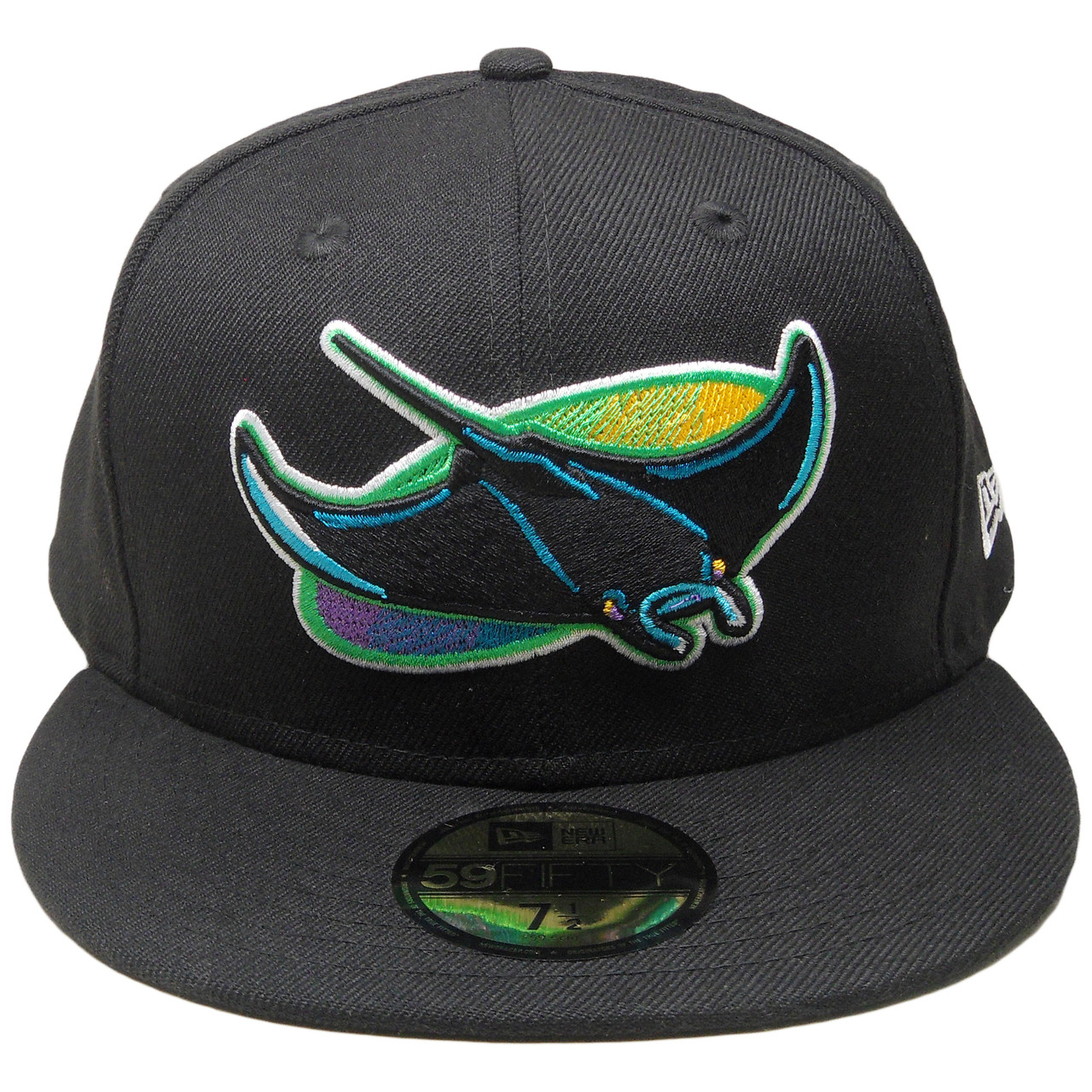 Tampa Bay Rays New Era Cooperstown Series 59Fifty Fitted Hat - Black ... 11844ecaf4d