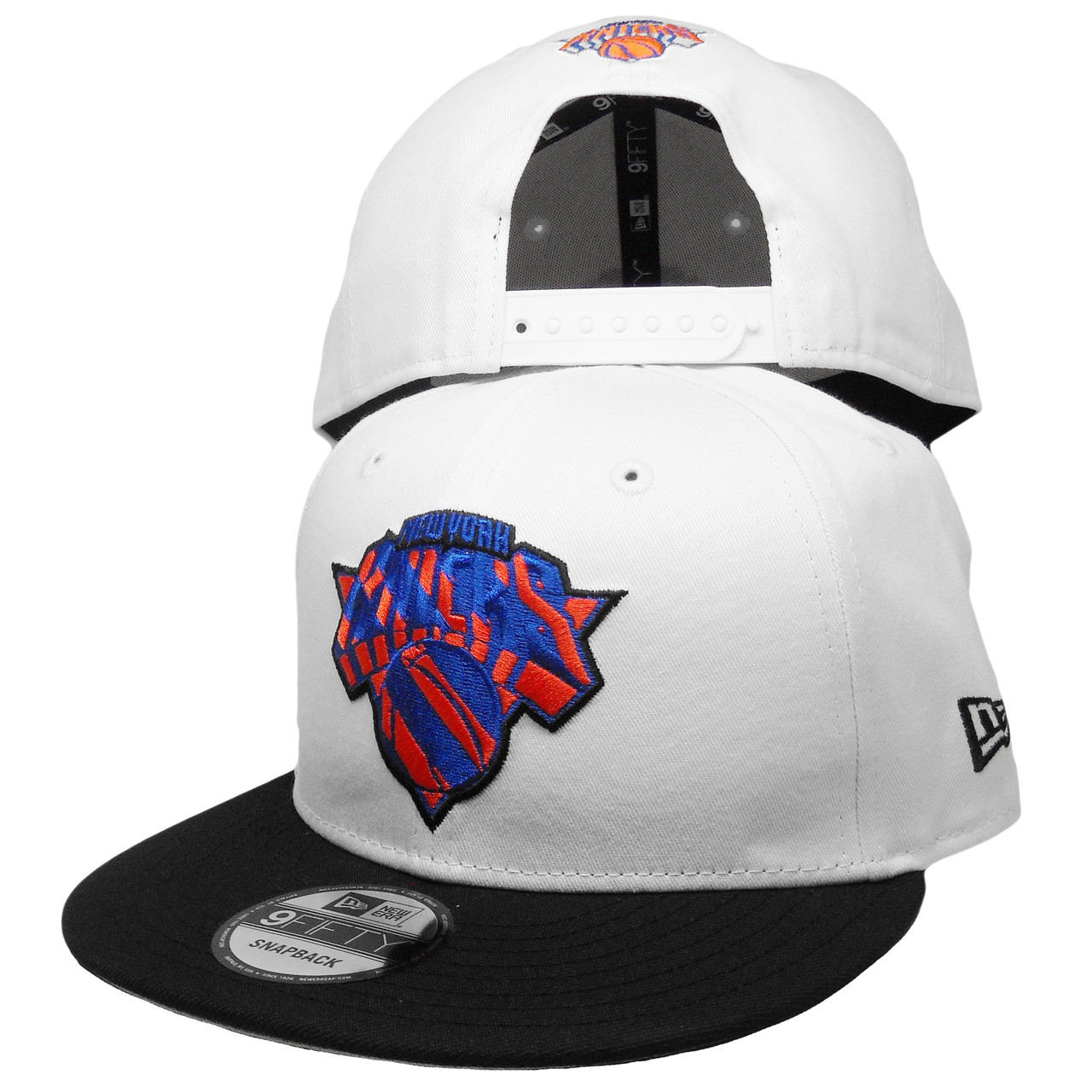 bf7e63967f27d New York Knicks New Era Custom 9Fifty Snapback - White